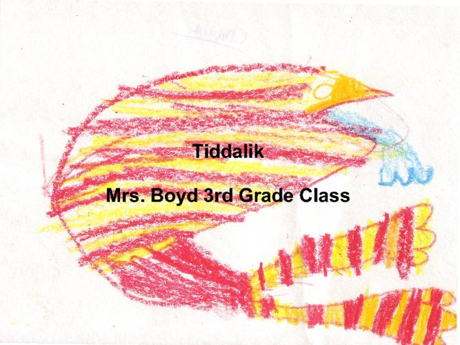 Tiddalik retold by Mrs. Boyd 3rd grade class. 2012