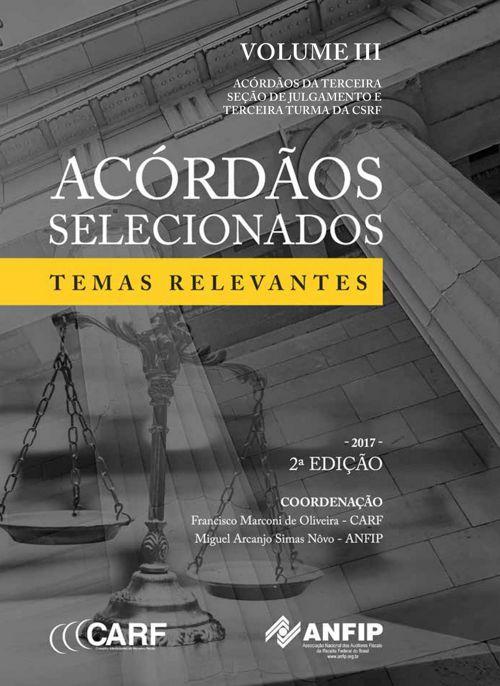 Livro Acórdãos 2017 Volume 3