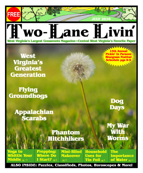 Two-Lane Livin Magazine July 2016