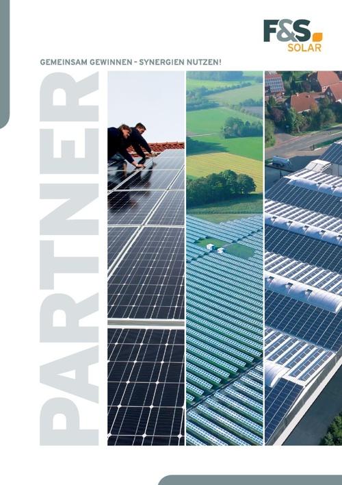 F&S solar - Partnermappe
