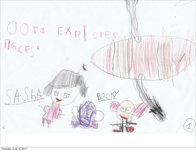 Dora by Sasha and Becky