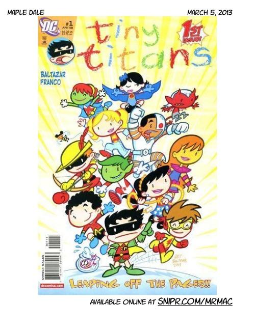 MD comic book '12-'13 v2
