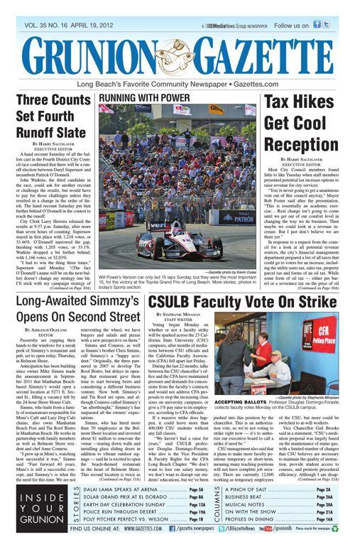 Grunion Gazette | April 19, 2012