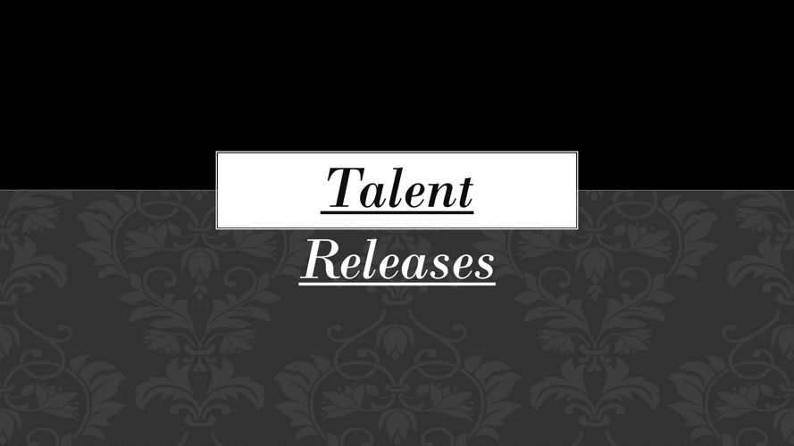 Talent Releases