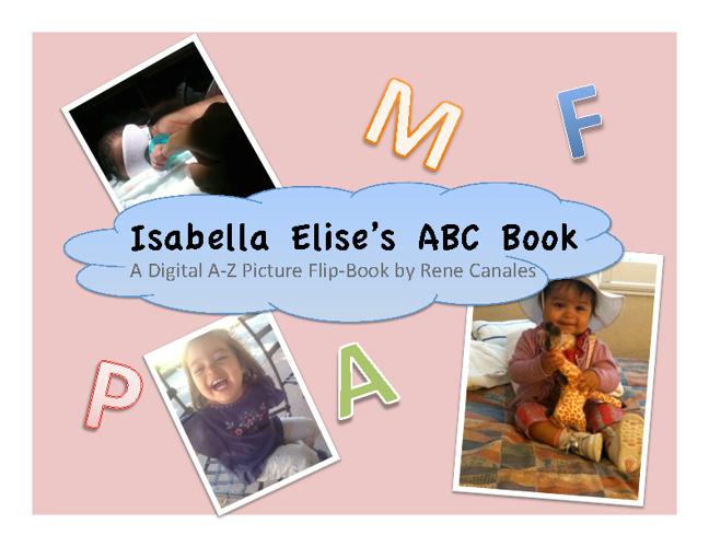 Isabella's ABC Flip Book