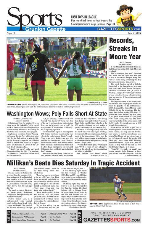 Gazette Sports | June 7, 2012