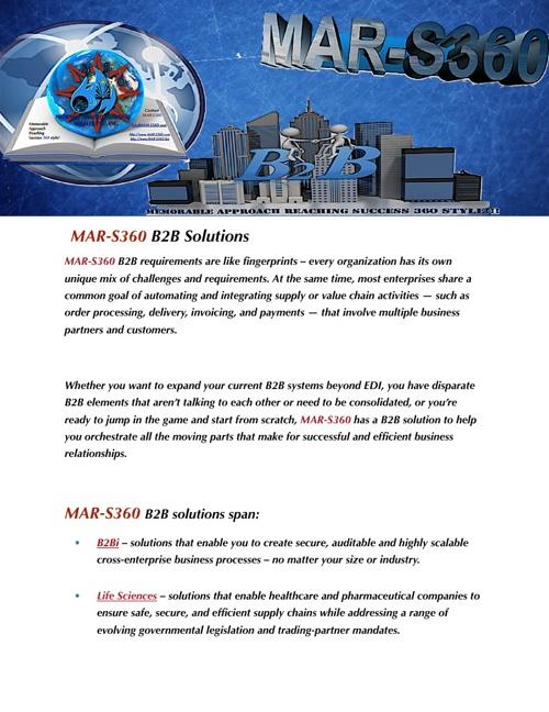 MAR-S360 B2B Solutions