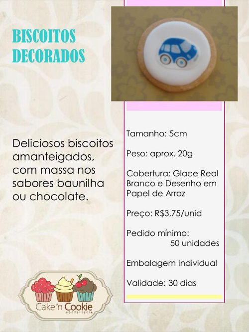 CATALOGO CAKE'n COOKIE