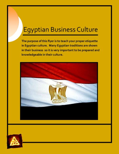 Egypt Flyer