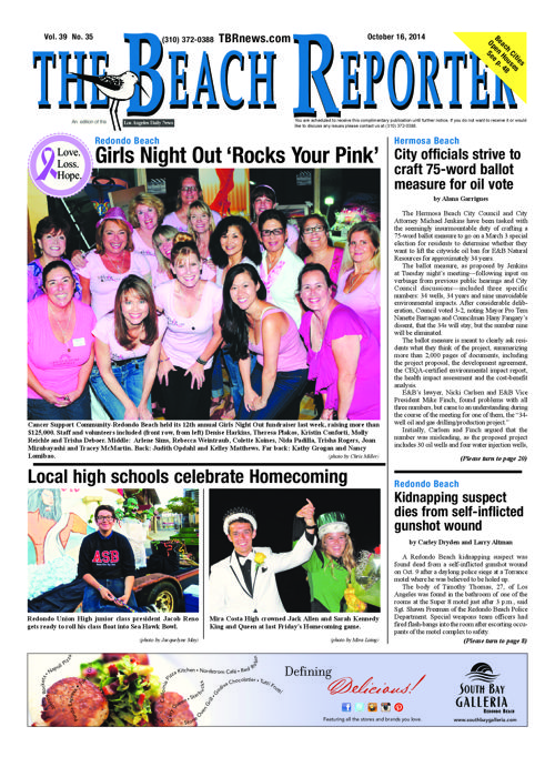 The Beach Reporter | 10-16-14