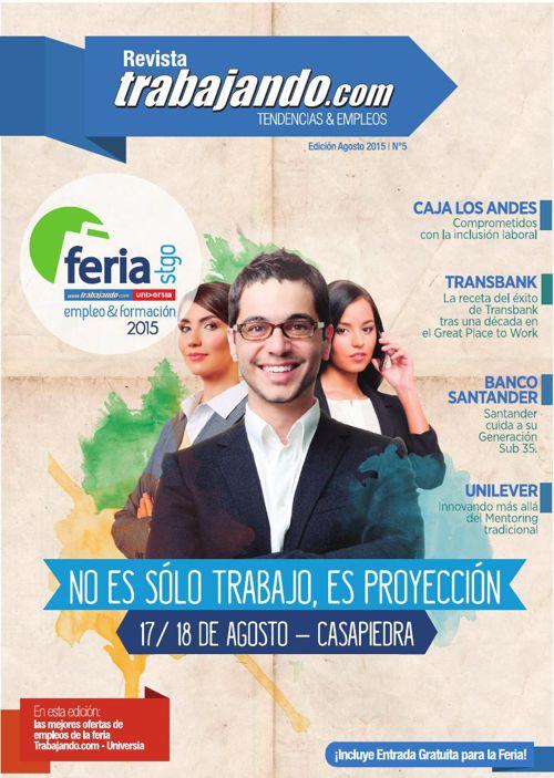 Revista Trabajando 5 - Agosto 2015