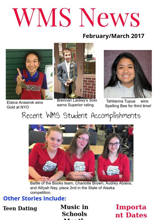 WMS News Feb/March 2017