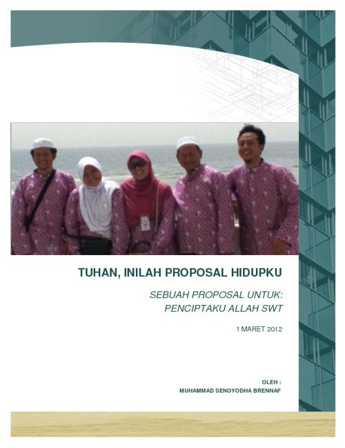 Proposal Hidup 2012