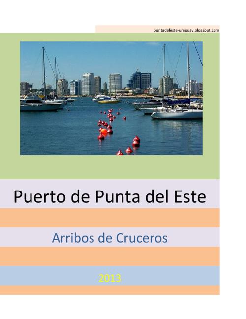 Arribos  Cruceros Punta del Este2013