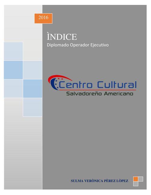 TABLA DE CONTENIDO_INDICE