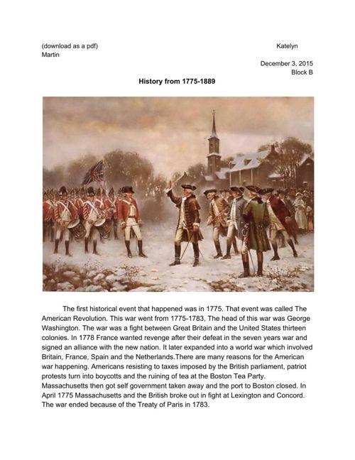 1775-1889 biography