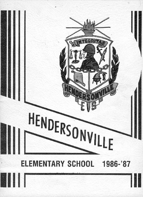 Hendersonville Elementary 1986-87