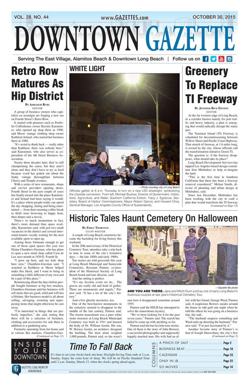 Downtown Gazette  |  October 30, 2015