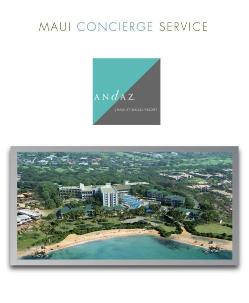 Andaz, Ben Owens, Maui Concierge Service
