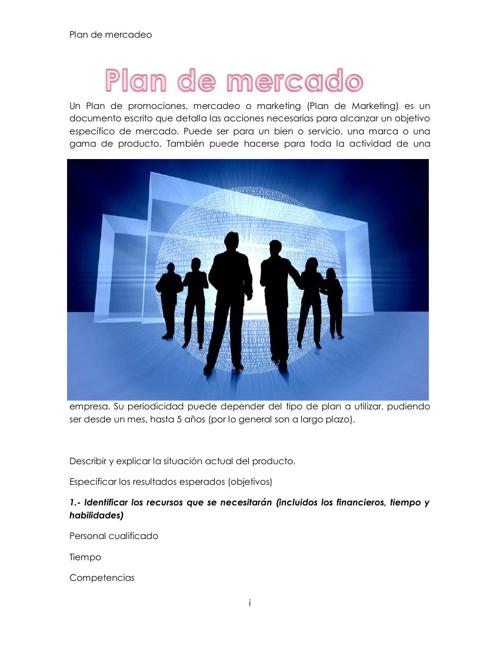 Plan de Mercadeo (1)