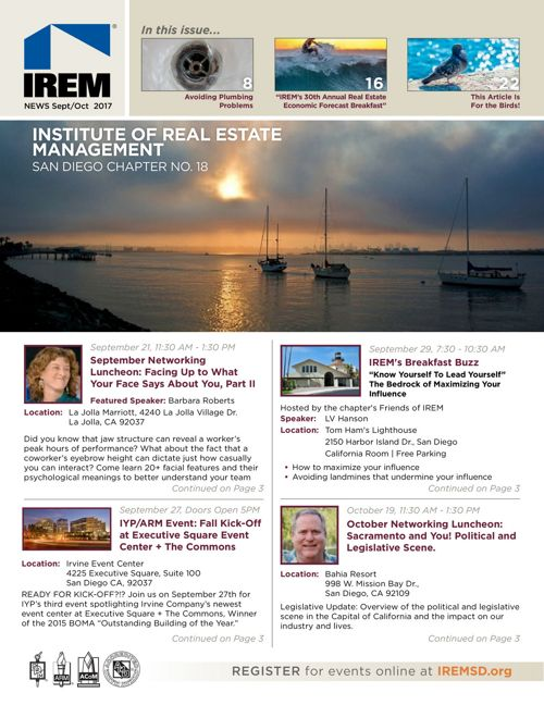 IREMSD Sept/Oct 2017 Newsletter
