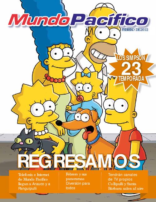 Revista Mundo Pacífico - Febrero 2012