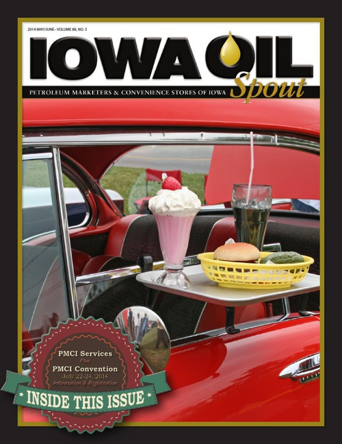 2014 Iowa Oil Spout - May/Jun