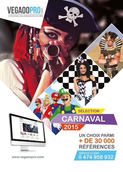 VegaooPro : Sélection Carnaval 2015