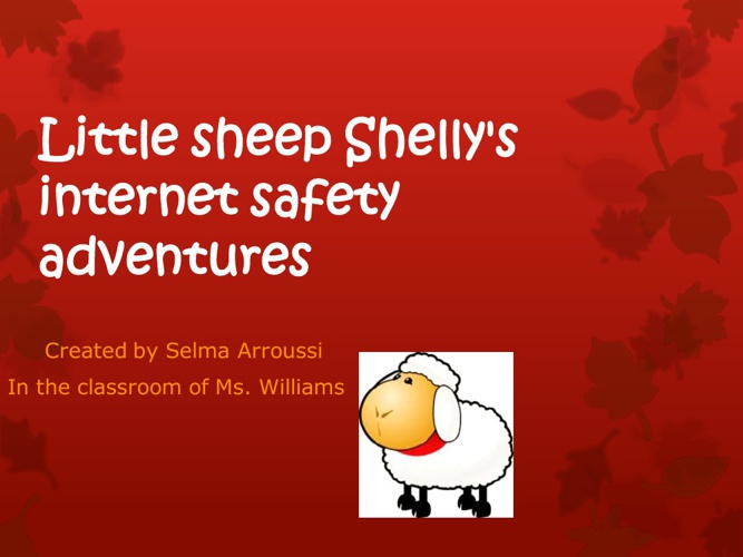 Little Sheep Shelly's Internet Safety Adventures