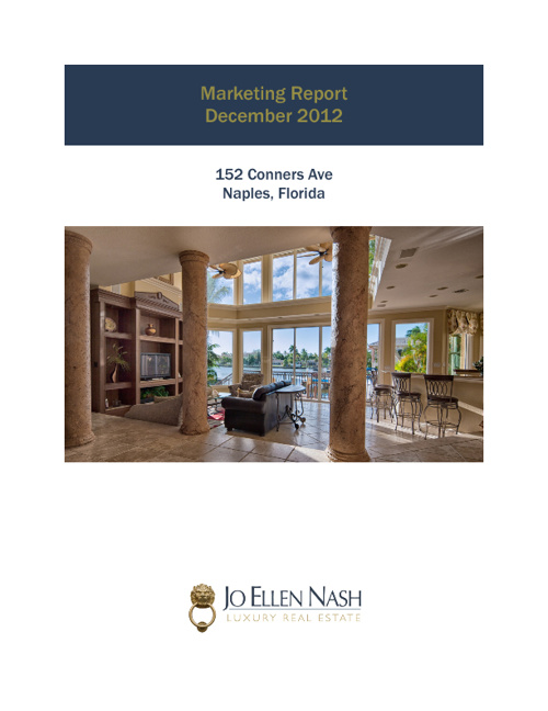 152 Conners Ave December 2012 Marketing Report