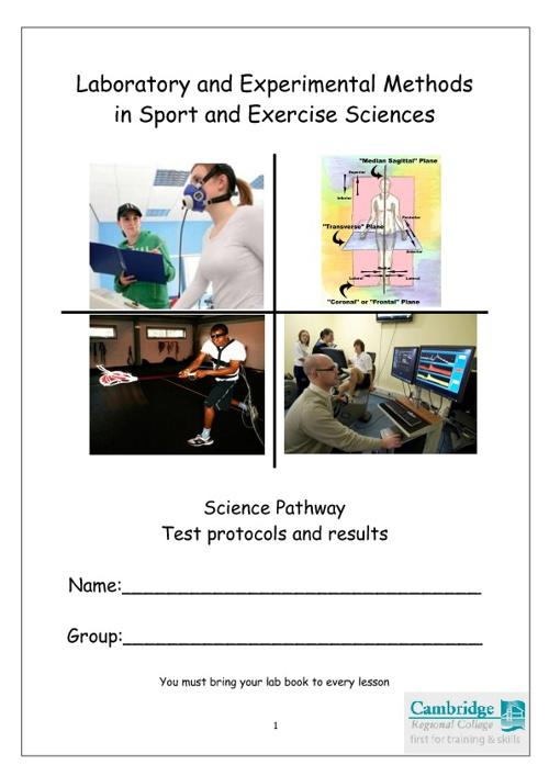 Lab book