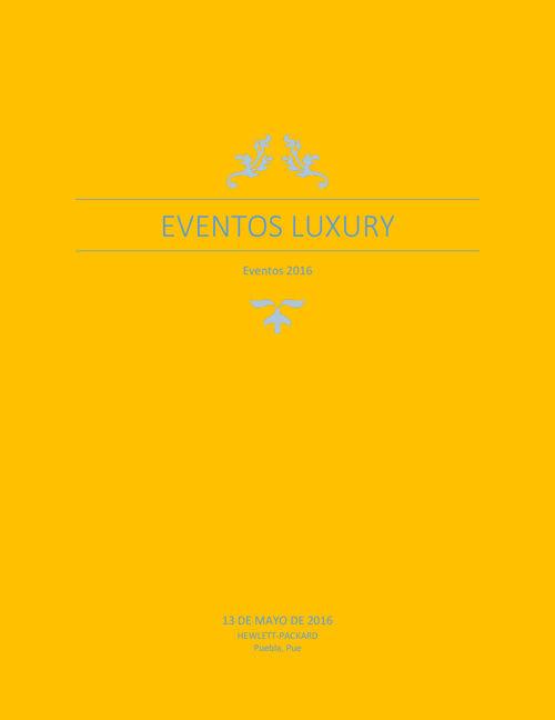 Luxury Eventos