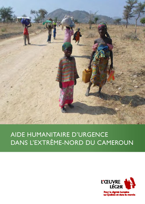 Brochure d'information - Assistance humanitaire au Cameroun
