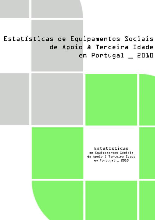 Estatísticas:Equipamentos Sociais de Apoio 3ª Idade-Port