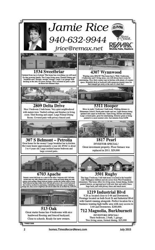 Wichita Falls Homes Magazine