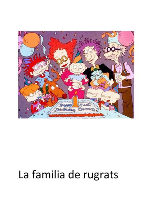 La familia de rugrats (3)