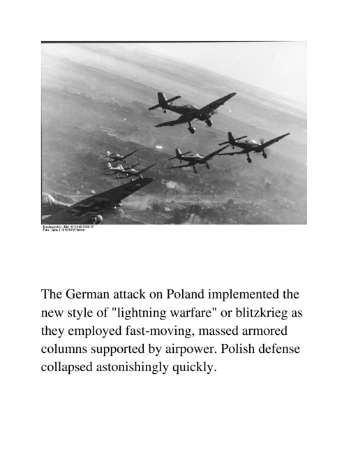 Blitzkrieg/Battle of Britain