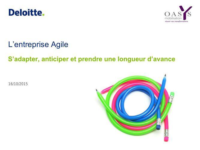 Rencontres d'Automne 2015 Deloitte Conference