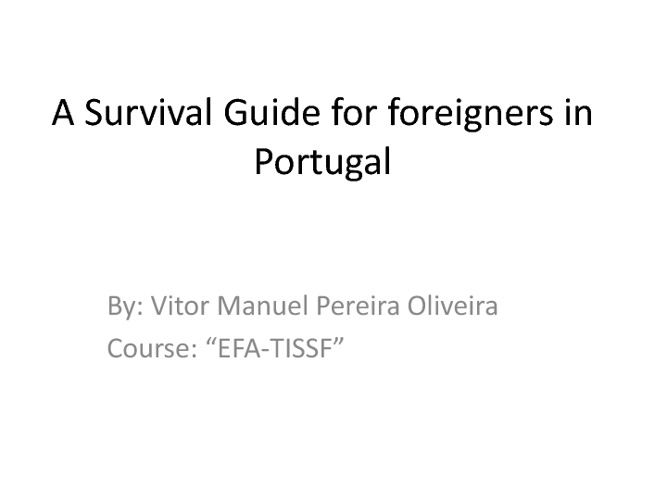 Survival Guide for foreigners