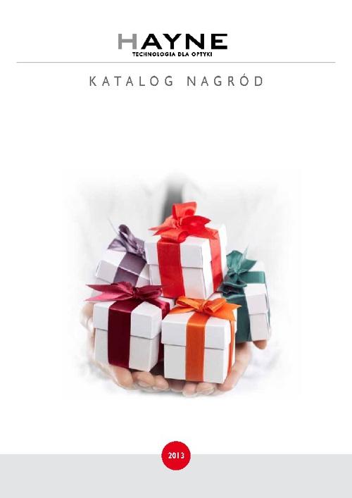 Katalog nagród 2013