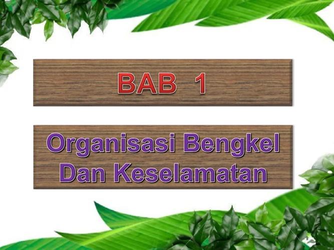 Copy of 1 TERAS- ORGANISASI BENGKL
