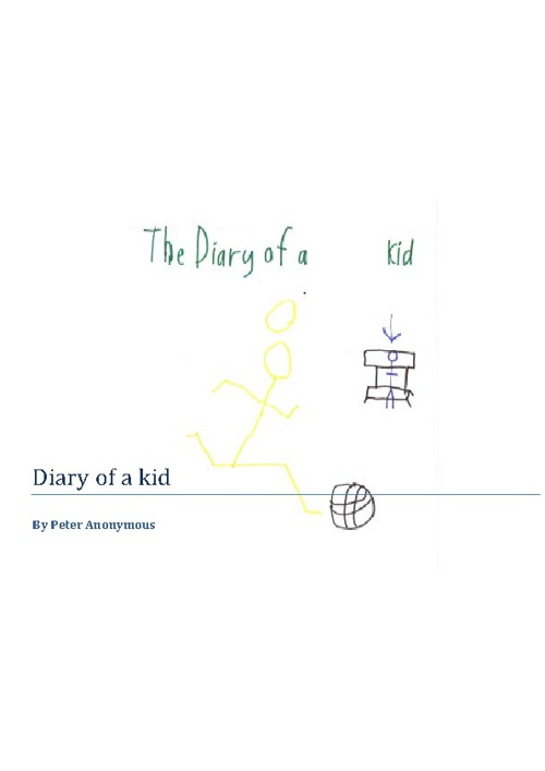 Diary of a kid !