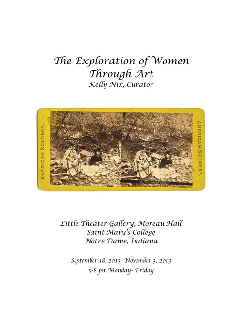 The Exploration of Women Through Art