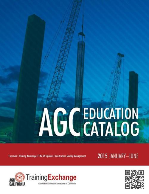 AGC 2015 Catalog