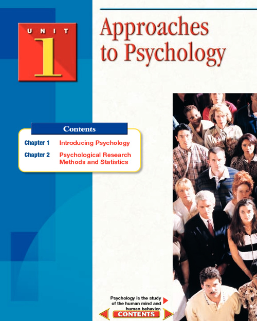 Understanding Psychology Chapter One