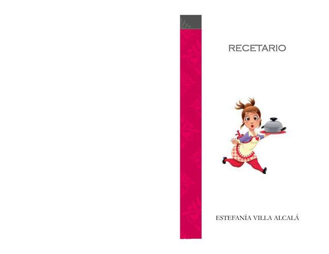 RECETARIO 4 6° SEMESTRE