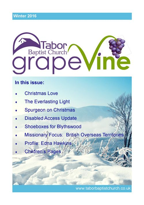 Grapevine Winter 2016