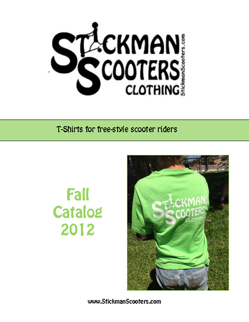 Stickman Scooter Clothing Catalog - Fall 2012