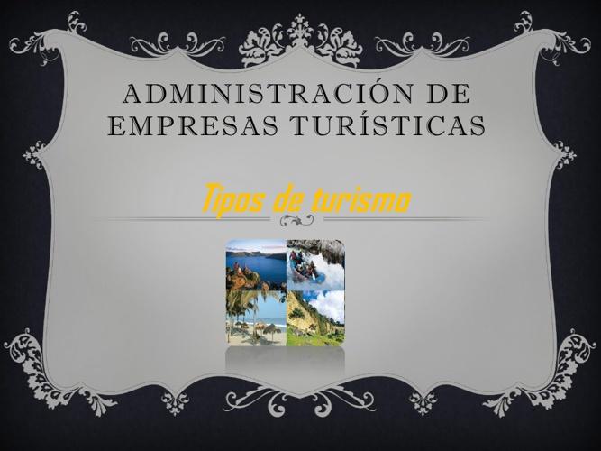Administración de Empresas Turisticas