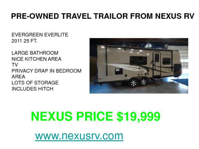 Used Motorhomes and RVs for sale at NeXus RV